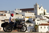 Sidecar tours Ferragudo views
