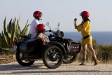Sidecar tours fun