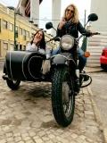 Girls fun with Bike my Side Lisbon