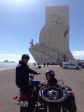 Lisbon touring in a Sidecar