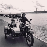 Vintage style with Bike my Side Lisbon